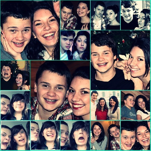 Noah a Hannah Ellenwood (na jedné fotce je i Hayley)